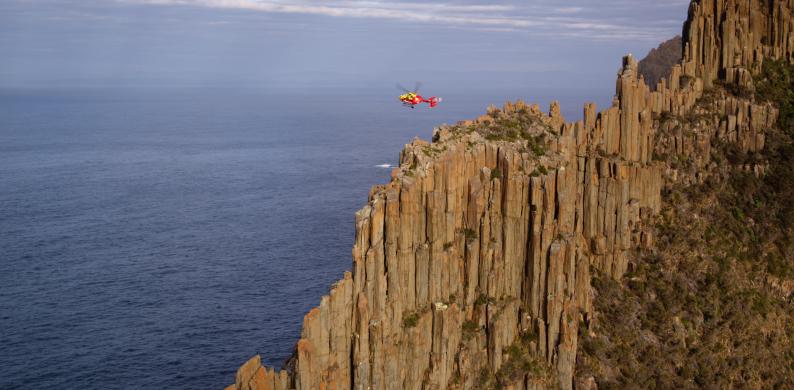Helicopter Tasman Peninsula
