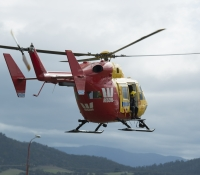 Westpac Rescue Helicopter inflight