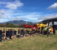 Glen Dhu Primary School Kids say thanks