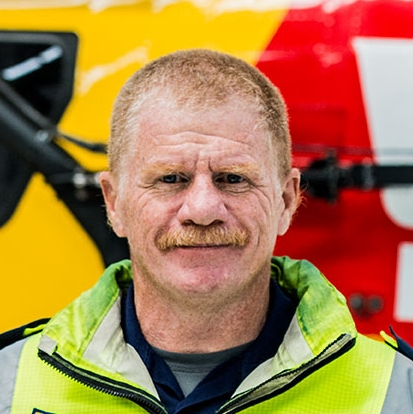 Westpac Rescue Helicopter Tasmania - Chief Crewman Sergeant Damian Bidgood