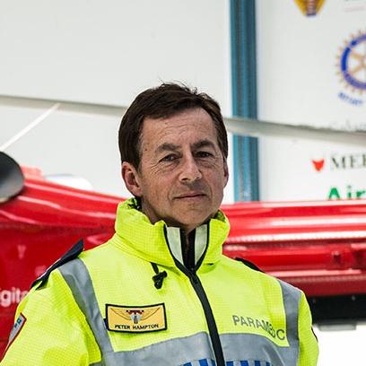 Westpac Rescue Helicopter Tasmania - Paramedic Peter Hampton