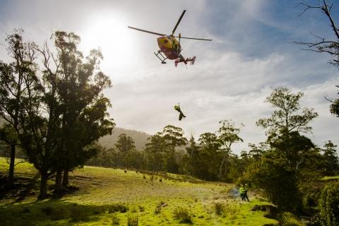 Westpac Rescue Helicopter Tasmania logo