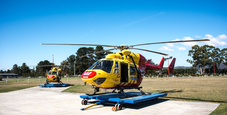 Tasmanian BK117 Westpac Rescue Helicopters