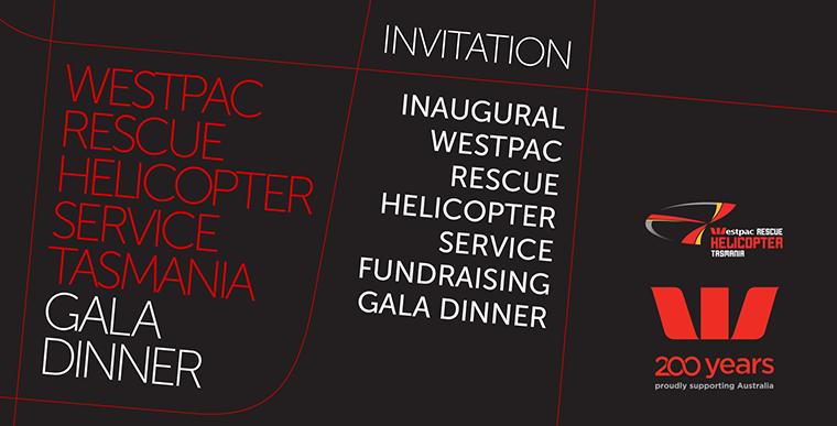Westpac Rescue Tasmania Gala Dinner