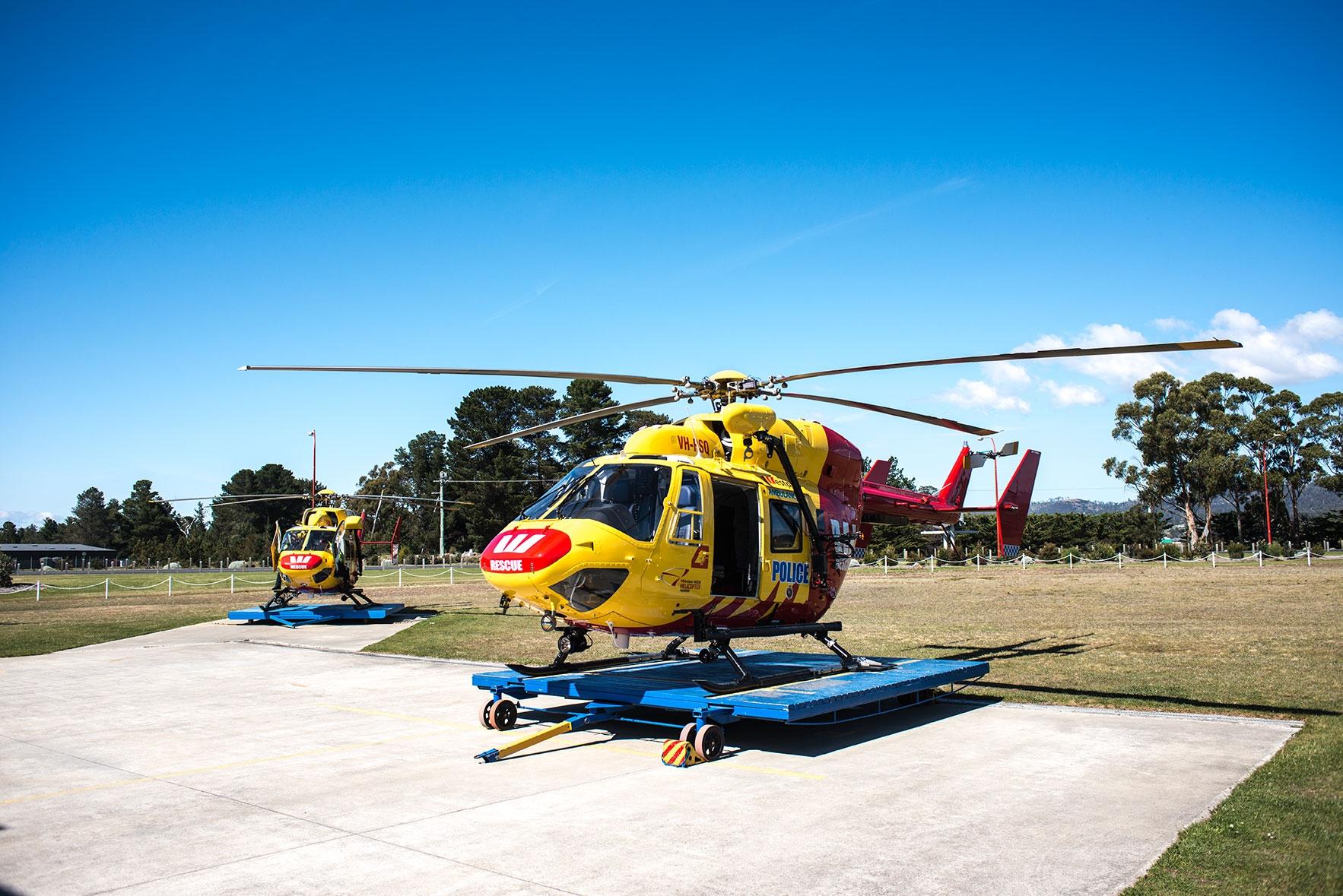 Tasmanian BK117 Westpac Rescue Helicopters